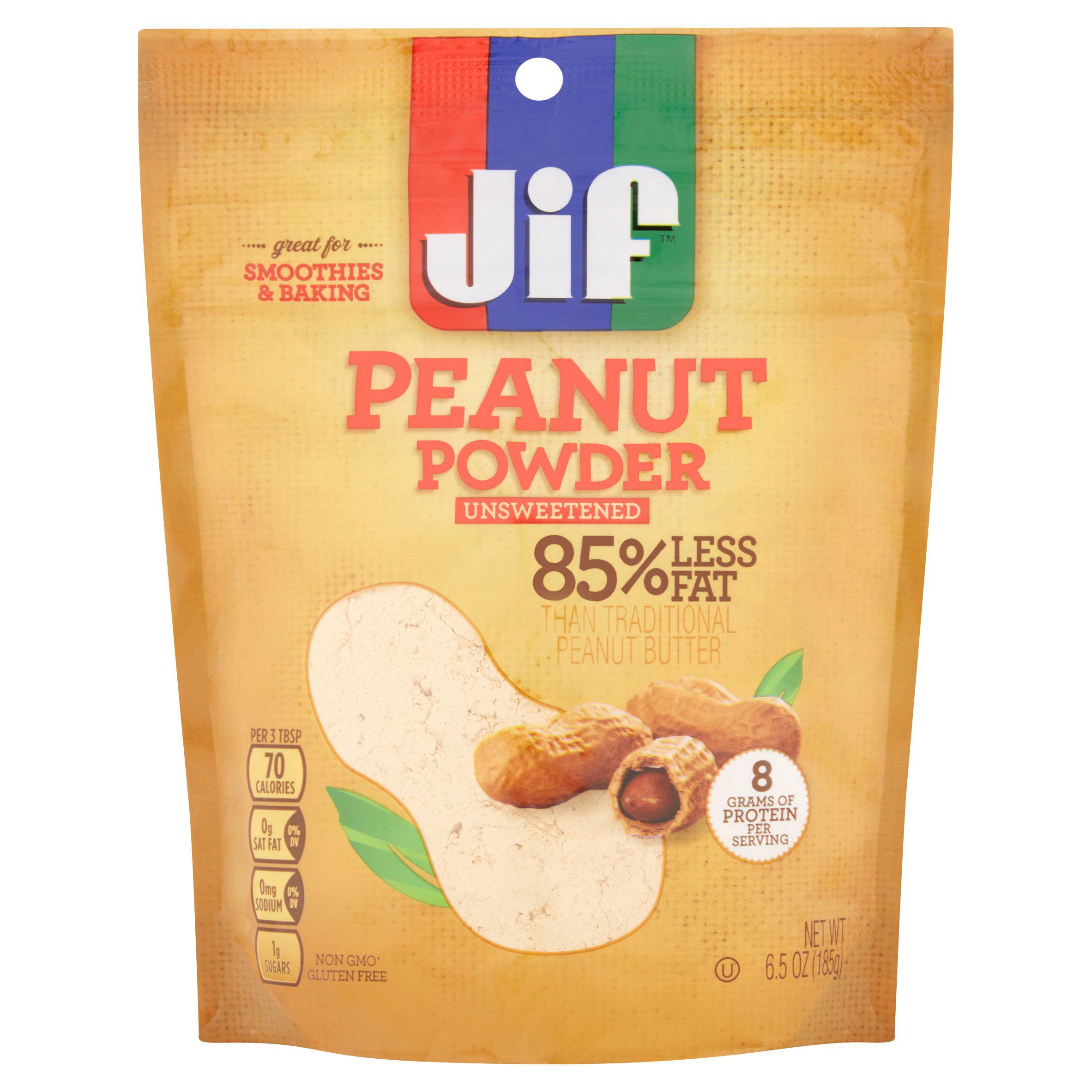 Jif Unsweetened Peanut Powder, 6.5 oz
