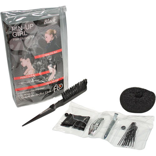 Lava Flo Pin Up Girl Kit, Black, 1ct