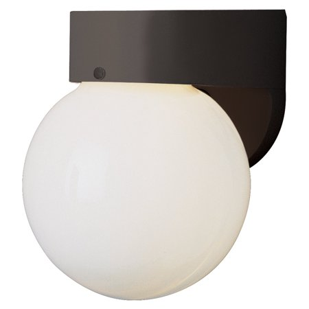Trans Globe Gu 24 Polycarbonate Flush Mount Outdoor Wall Light 7h In