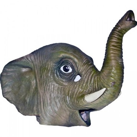 Adult Latex Full Head Elephant Mask