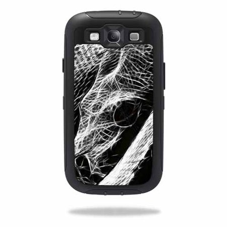 Mightyskins Protective Vinyl Skin Decal Cover for OtterBox Defender Samsung Galaxy S III S3 Case wrap sticker skins Snake Bite