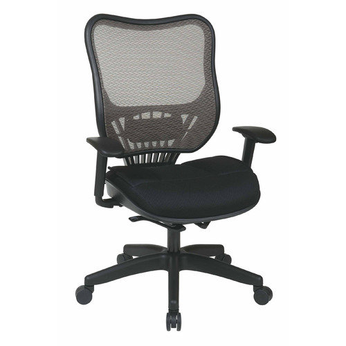 Office Star Products Space Seating Mid-Back Mesh Executive Chair