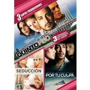 Amores Peligrosos: Quinto Piso   Seduccion   Por Tu Culpa (3 Peliculas) (Spanish) (Full Frame) by