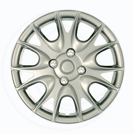- Fit Nissan Wheels Rim Cover 4pcs Hub Cap 4 Chrome Lug Trim Skin  Complete Set For 200SX 240SX 300ZX Altima Cube Frontier