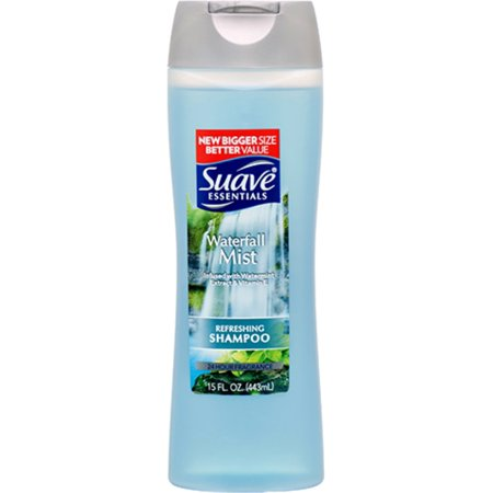 Suave Essentials Shampoo, Waterfall Mist 15 oz
