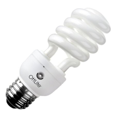 OttLite 15ED12R 15w Edison HD CFL Swirl (Best Ottlite Light Bulbs)