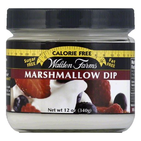 Walden Farms No Calorie Marshmallow Dip, 12 OZ (Pack of 6)](Halloween Chocolate Dipped Marshmallows)