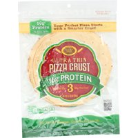 Golden Home Crust Pizza Prtn Thin 7In,4.5Oz (Pack Of 10)