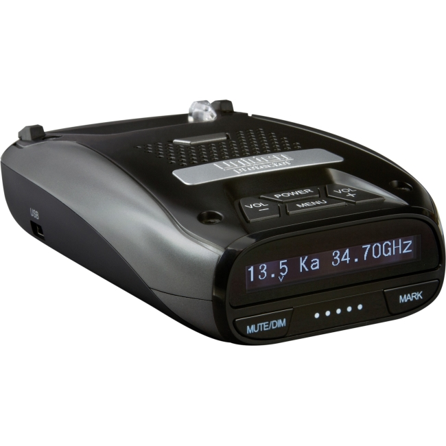 Uniden LRD950 Laser Radar Detector w GPS & Red Light Traffic Camera Alert Refurb by Uniden