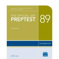 The Official LSAT Preptest 89 (Paperback)