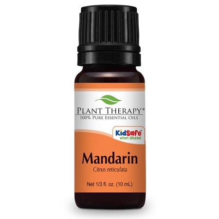 Plant Therapy Mandarin Essential Oil 10 mL (1/3 fl. oz.) 100% Pure, Undiluted, Therapeutic Grade