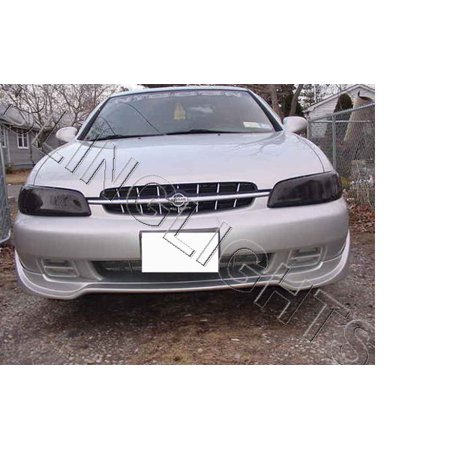 New 1998 1999 2000 2001 Nissan Altima Smoked Headlamp Film Covers
