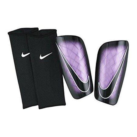 new product 6df6d 10ce1 Nike Mercurial Lite Soccer Shin Guards Urban Lilac Small - Walmart.com