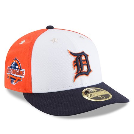 info for bfa32 6e70e Detroit Tigers New Era 2018 MLB All-Star Game On-Field Low Profile 59FIFTY  Fitted Hat - White Navy - Walmart.com