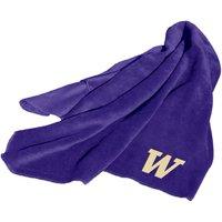 Washington Huskies 50x60 NCAA Embroidered Huddle Fleece Throw Blanket