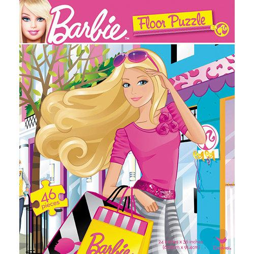 Cardinal Games - Barbie Floor Puzzle