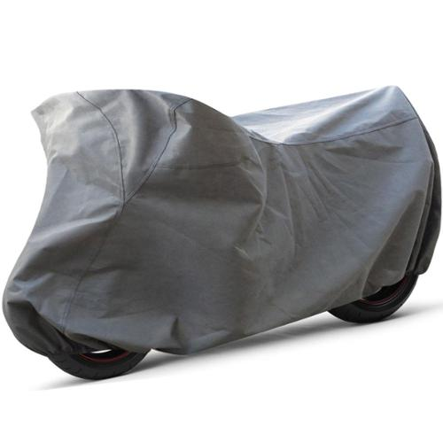 Oxgord All Weather Indoor/ Outdoor Standard Motorcycle Cover for Sport Bikes, Cruisers, Choppers, an MOTO-L Fits vehicles up to 90 in.