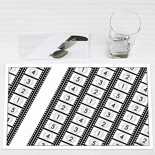 Movie Hollywood Party Placemats Set of 12 by Big Dot of Happiness, LLC