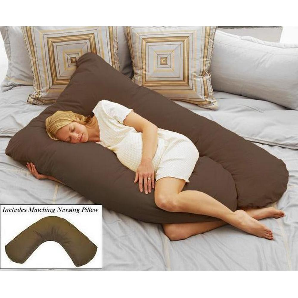 Pregnancy & Nursing Pillow Pack - Espresso