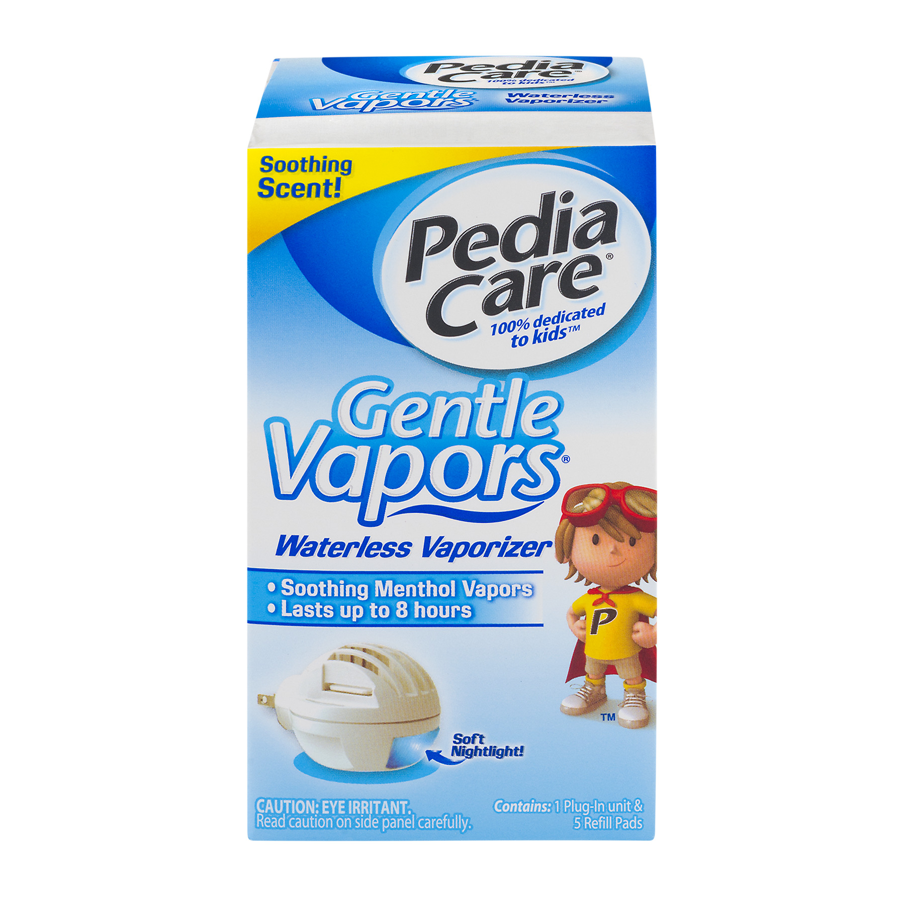 PediaCare Gentle Vapors Plug In Mini Vaporizer & Nightlight, 1ct