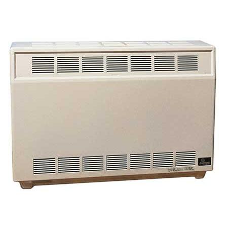EMPIRE RH35LP Gas Fired Room Heater, 26 In. H, LP