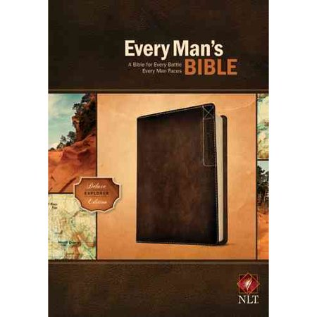 Every Mans Bible: New Living Translation, Deluxe Explorer Edition by