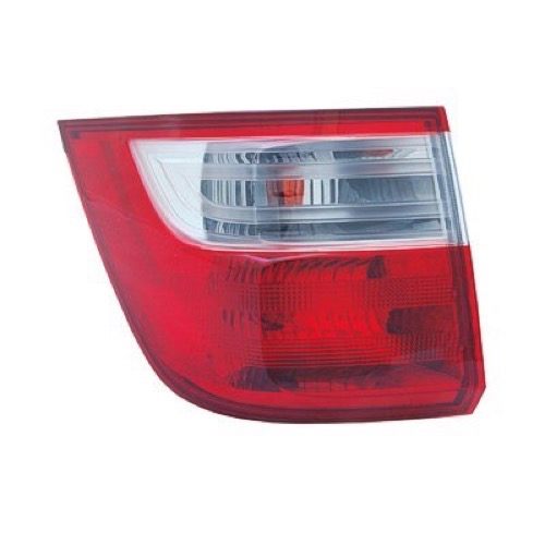 for 2011-2013 Honda Odyssey Rear Tail Light Lamp Assembly // Lens // Cover Left Side Outer 33550-TK8-A01 HO2804100 Replacement 2012 Go-Parts Driver