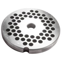 "# 5 Stainless Steel Grinder Plate - 6mm (1/4"")"
