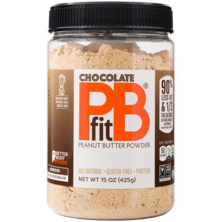 Chocolate Pistachio Butter (PBfit Chocolate Peanut Butter Powder, 15)