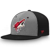 Arizona Coyotes Fanatics Branded Versalux Fitted Hat - Gray/Black