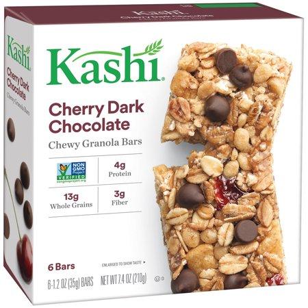 Kashi Cherry Dark Chocolate Chewy Granola Bars, 1 2 oz, 6 count