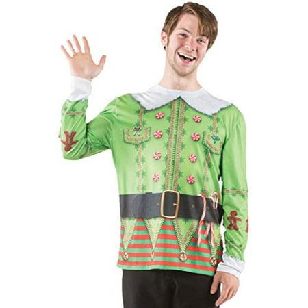 Men's Ugly Christmas Elf Sweater