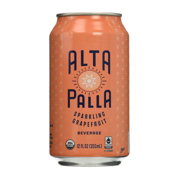 Alta Palla Organic Fair Trade Fruit Juice Sparkling Grape...