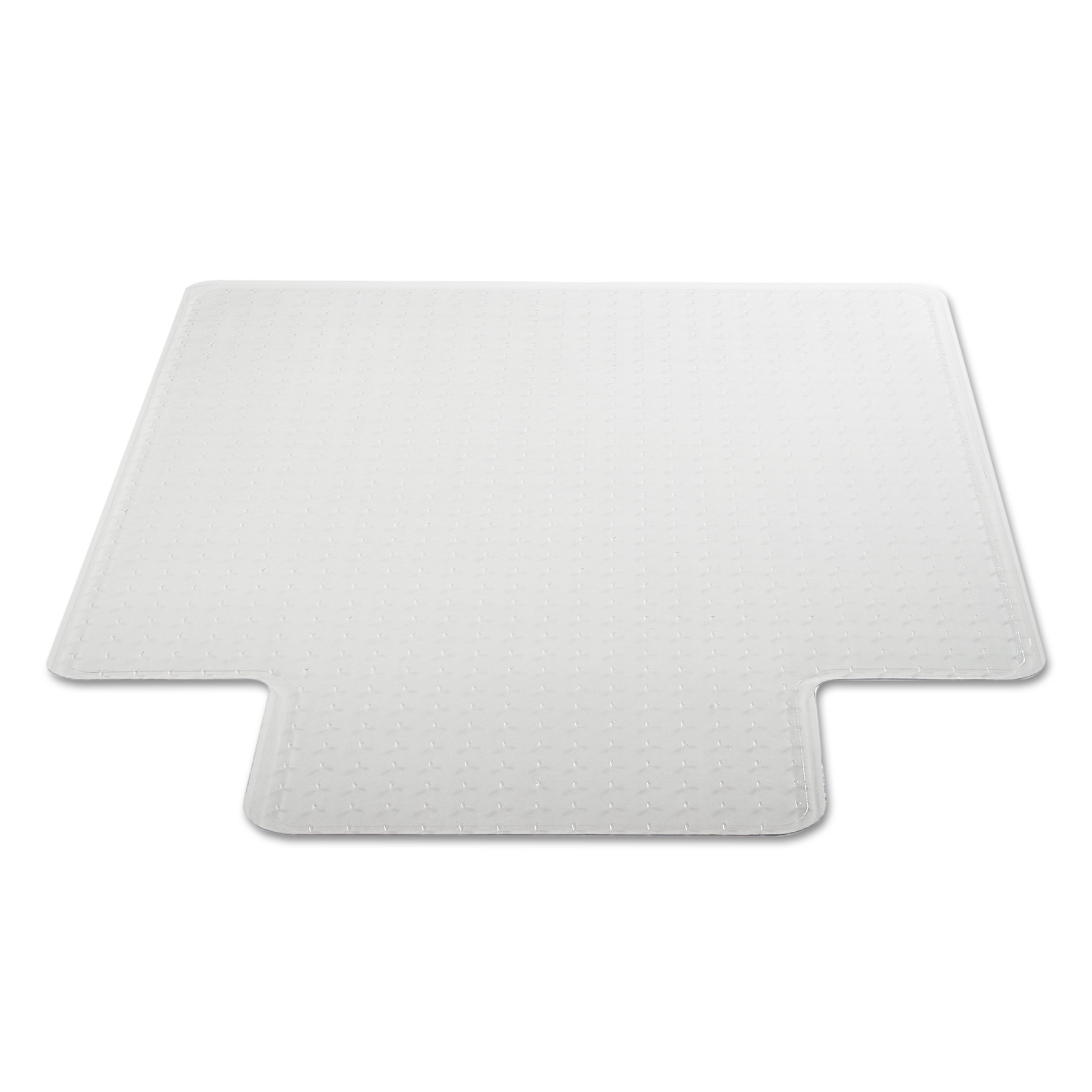 Office Impressions Chair Mat, 48 x 36, 20 x 10 Lip, Clear