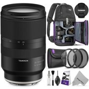 Tamron 28-75mm f/2.8 Di III RXD Lens for SONY E Mount Cameras w/ Advanced Photo and Travel Bundle (Tamron 6 Year Limited USA Warranty)