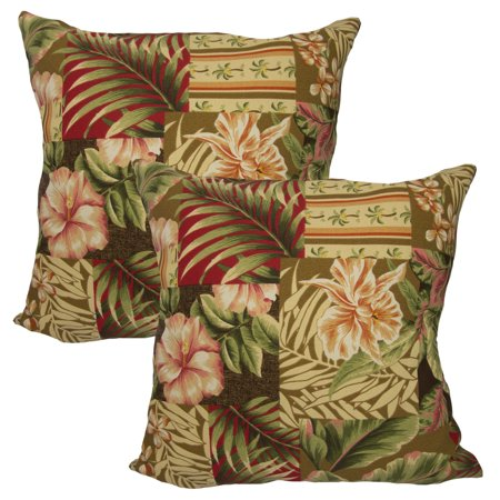Wondrous Set Of 2 Arlington House Outdoor Throw Pillows For Couch Furniture Cushion Patio Bed Sofa Uv Protected Machost Co Dining Chair Design Ideas Machostcouk