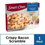 Smart Ones Crispy Bacon Scramble, Frozen Meal, 6.5 oz Box