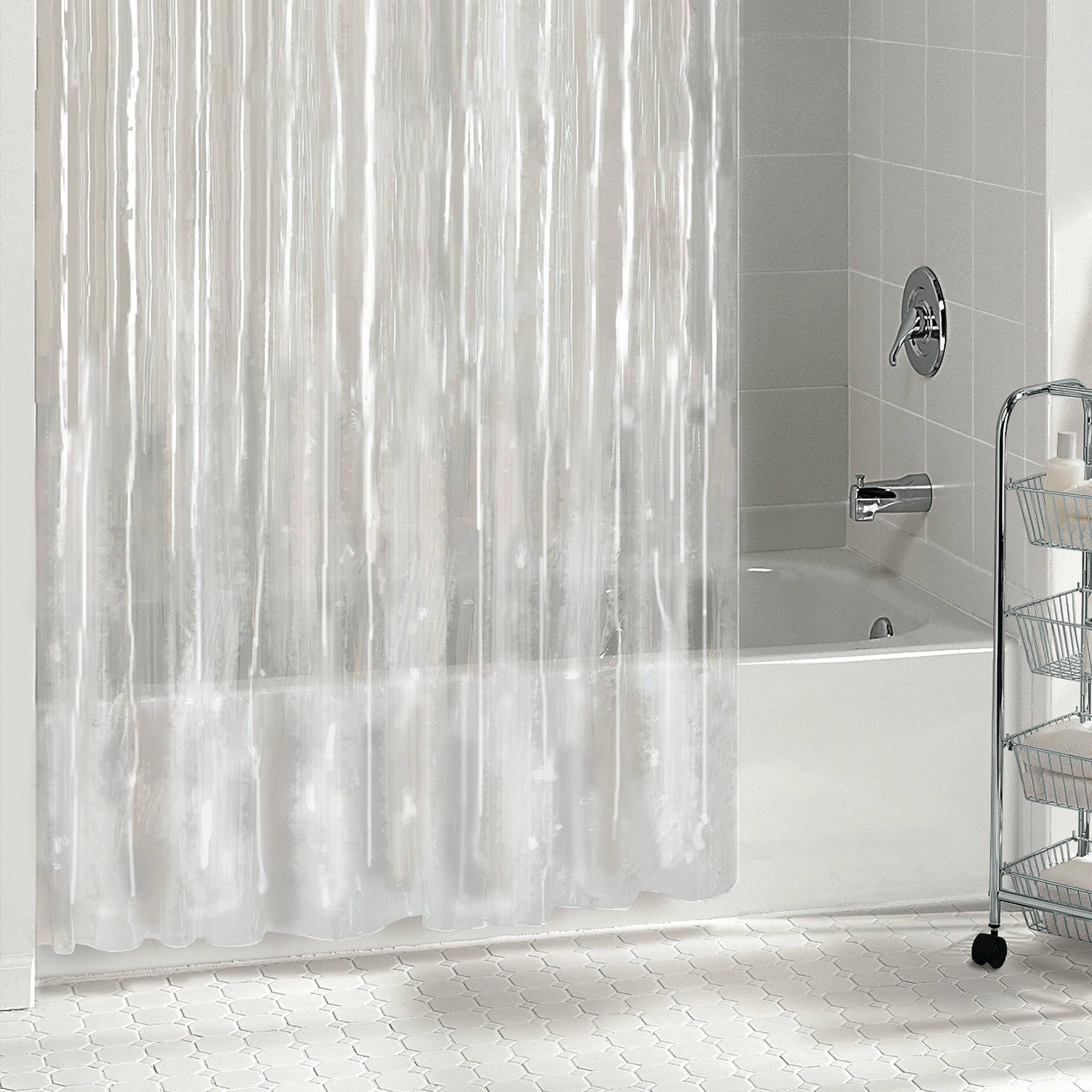 Excell Peva Shower Curtain Liner Walmart Com