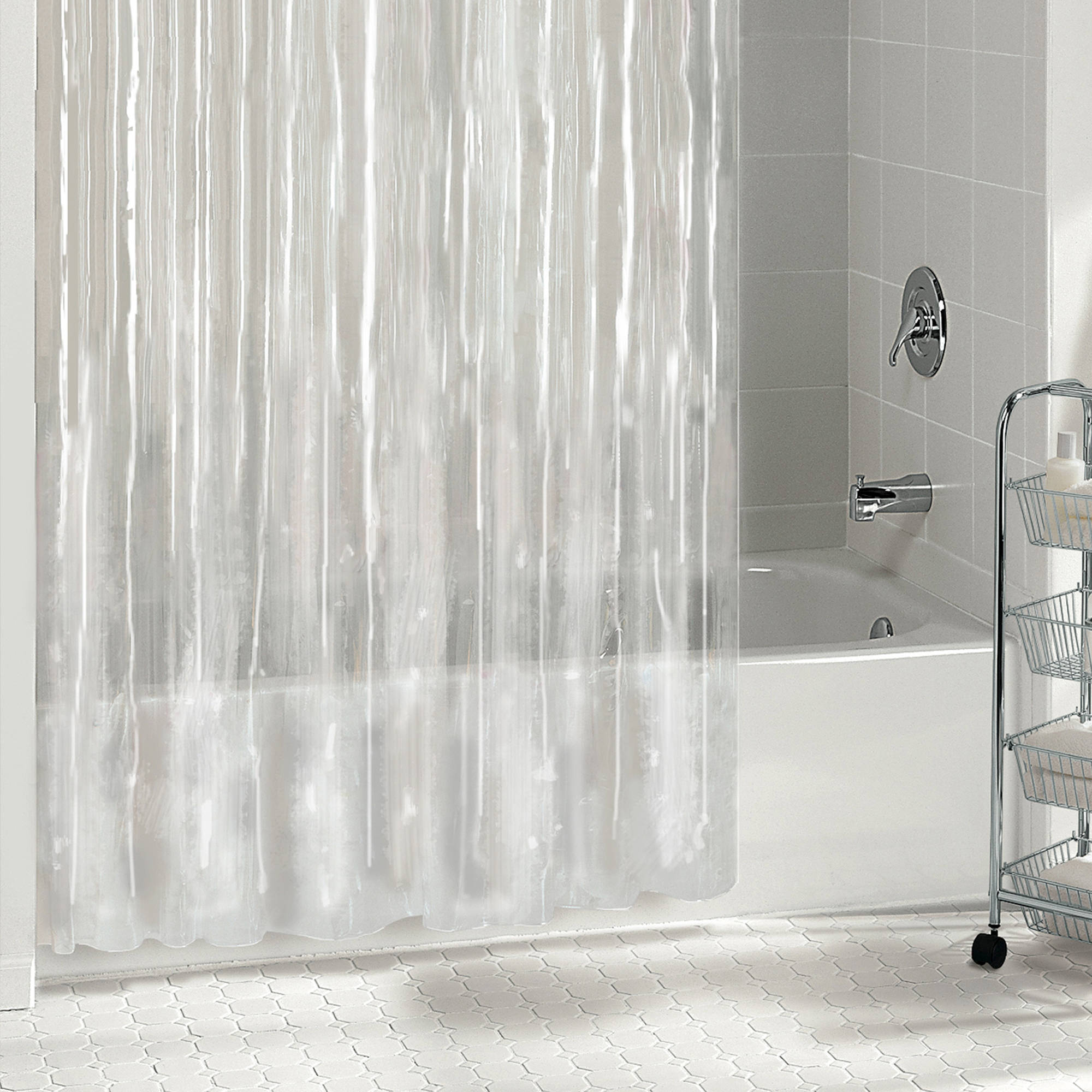 Excell Peva Shower Curtain Liner Walmart Com