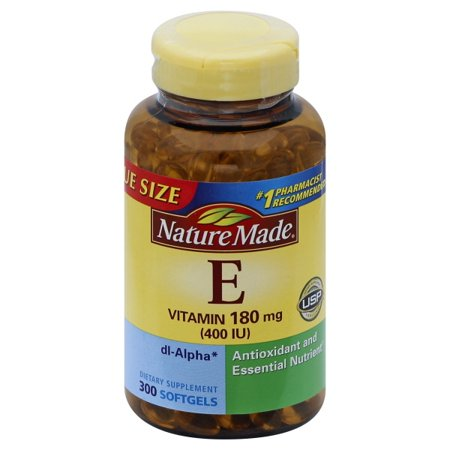 Nature Made Vitamin E 400 I.U. (dl-Alpha) Mega