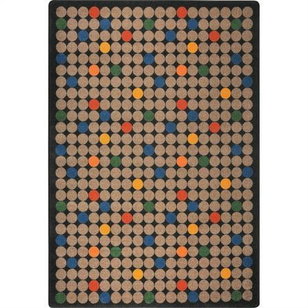 Joy Carpets Playful Patterns Childrens Area Rugs Spot On Rectangle
