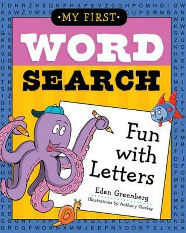 Fun with Letters by Eden Greenberg (English) Paperback Book! by