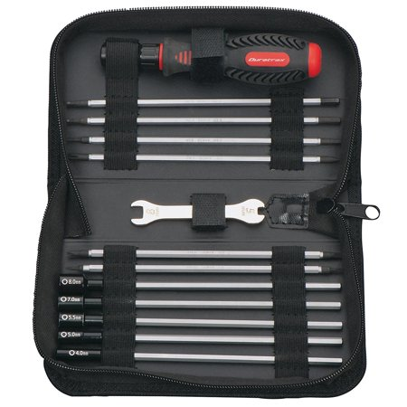 19-in-1 Tool Set with Pouch for Traxxas Vehicles, These are all the tools you need for routine maintenance on over a dozen of the most popular.., By DuraTrax (Most Popular Tools)