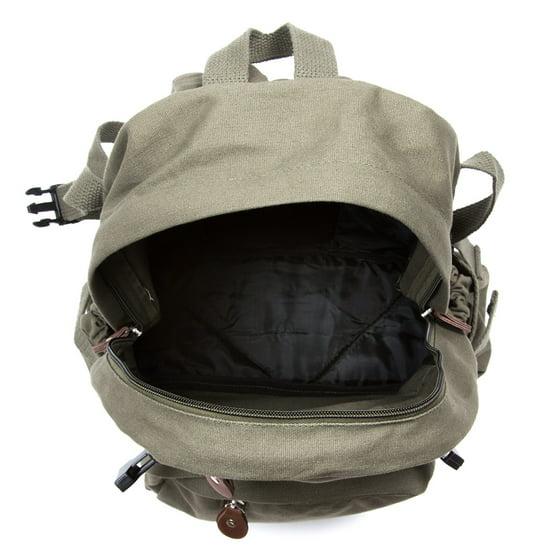 e33546a58137 Pokemon Go TEAM MYSTIC Articuno Canvas Backpack Bookbag Army School Sports  Bag - Walmart.com
