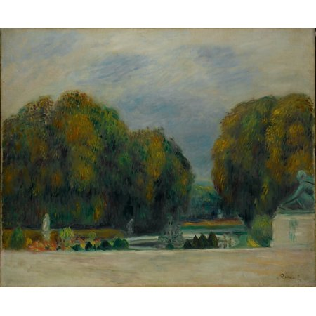 """French Limoges Box - Versailles Poster Print by Auguste Renoir (French Limoges 1841  """"1919 Cagnes-sur-Mer) (18 x 24)"""
