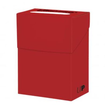 Deck Box - Solid Red (2017 Edition) New