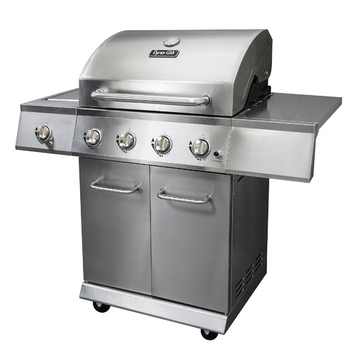 Dyna-Glo DGE486SSP-D 4-Burner Stainless LP Gas Grill by GHP Group, Inc.