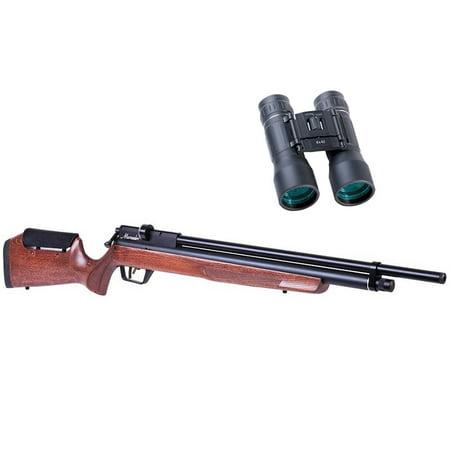Benjamin Marauder .22 Caliber PCP Air Rifle with Wood Stock, Hunt and Scout Bundle Series