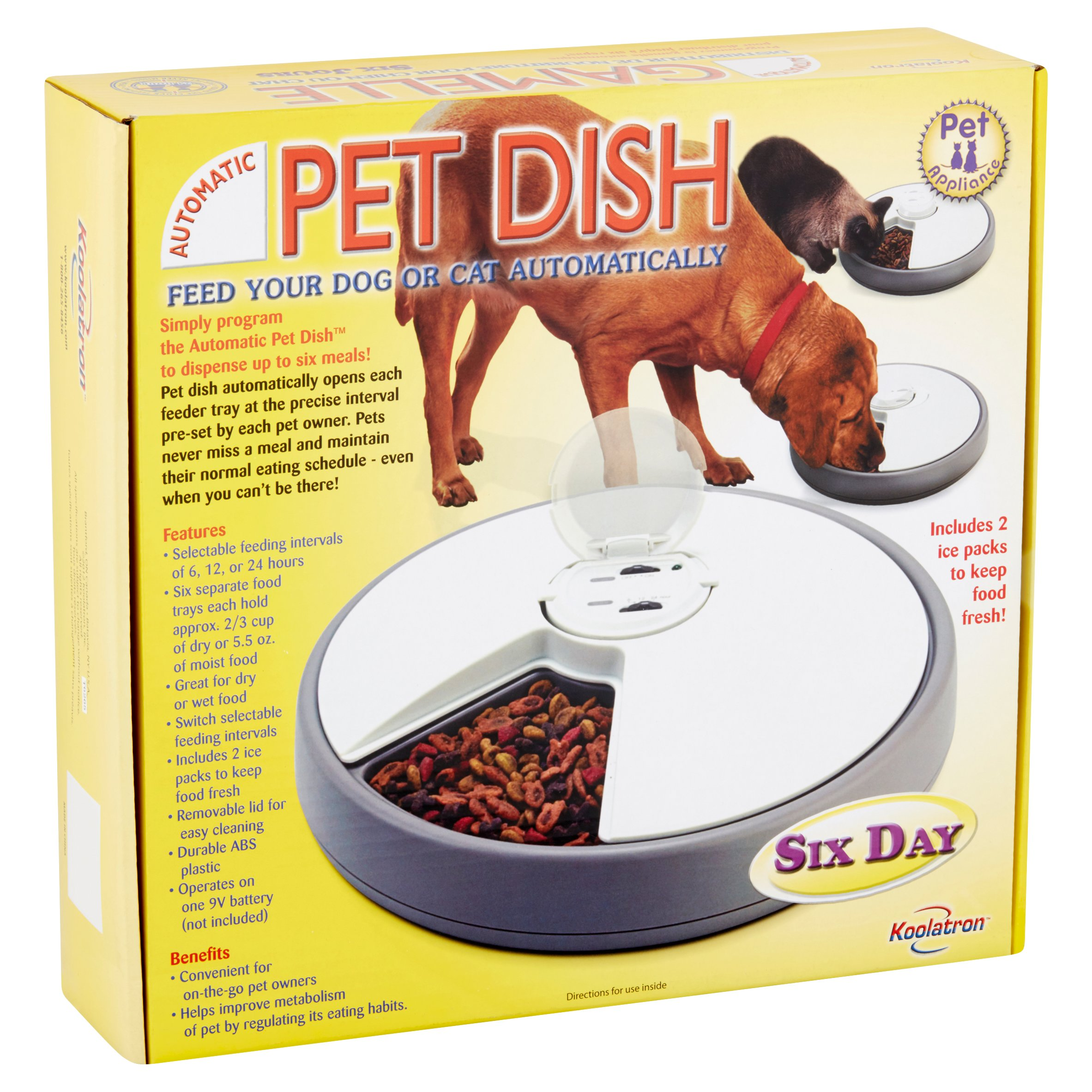every makes feeder petsafe pet automatic timed six on programmable review meals time meal
