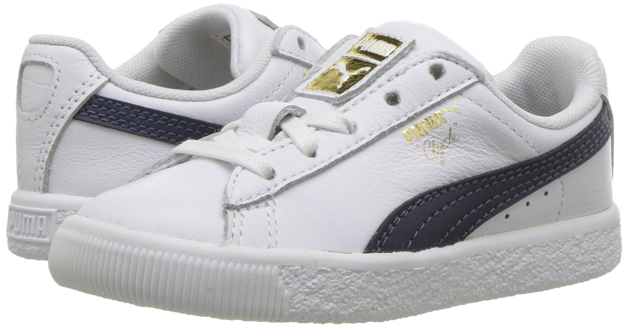 PUMA Kids Clyde Core L Foil Sneaker